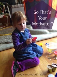 So thats your motivator Z playing with play doh