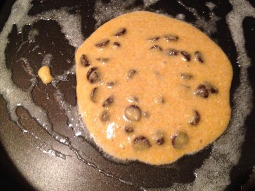 Trader Joe's Pumpkin Cornbread Pancakes