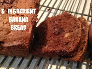 Banana bread to use