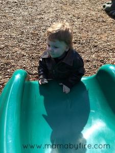 Discovering Washington Ronan at the park