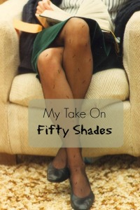 My take on Fifty Shades reading woman
